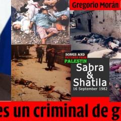 Gregorio Morán. ¿Qué es un criminal de guerra?